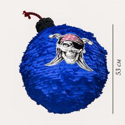 Размер бомбы пиньяты
