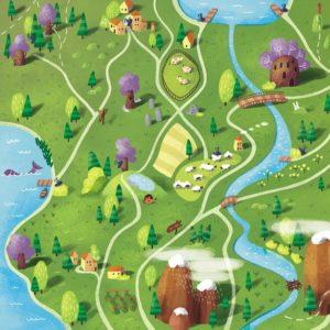 Карта волшебной страны