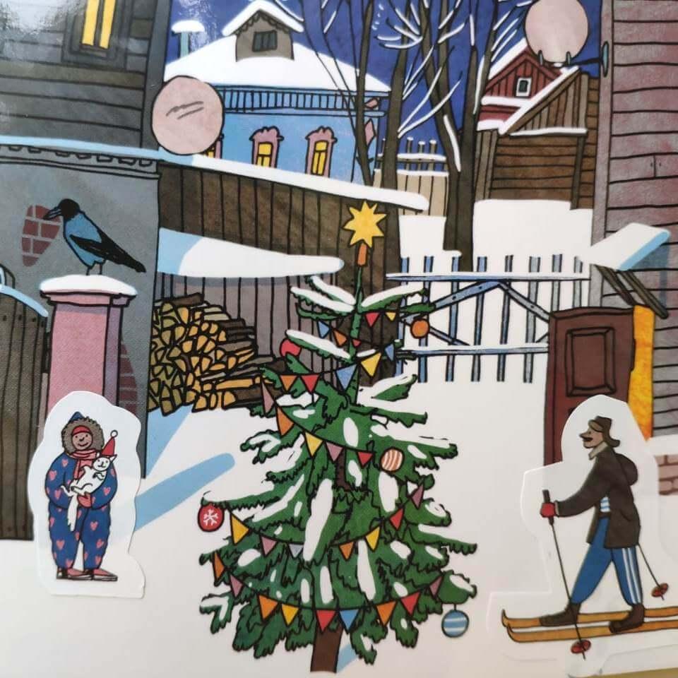 Адвент-календарь «Маленький город»