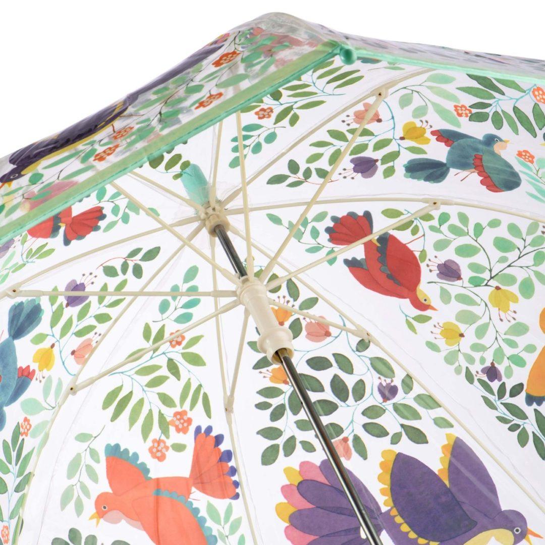Зонтик «Цветы и птицы»