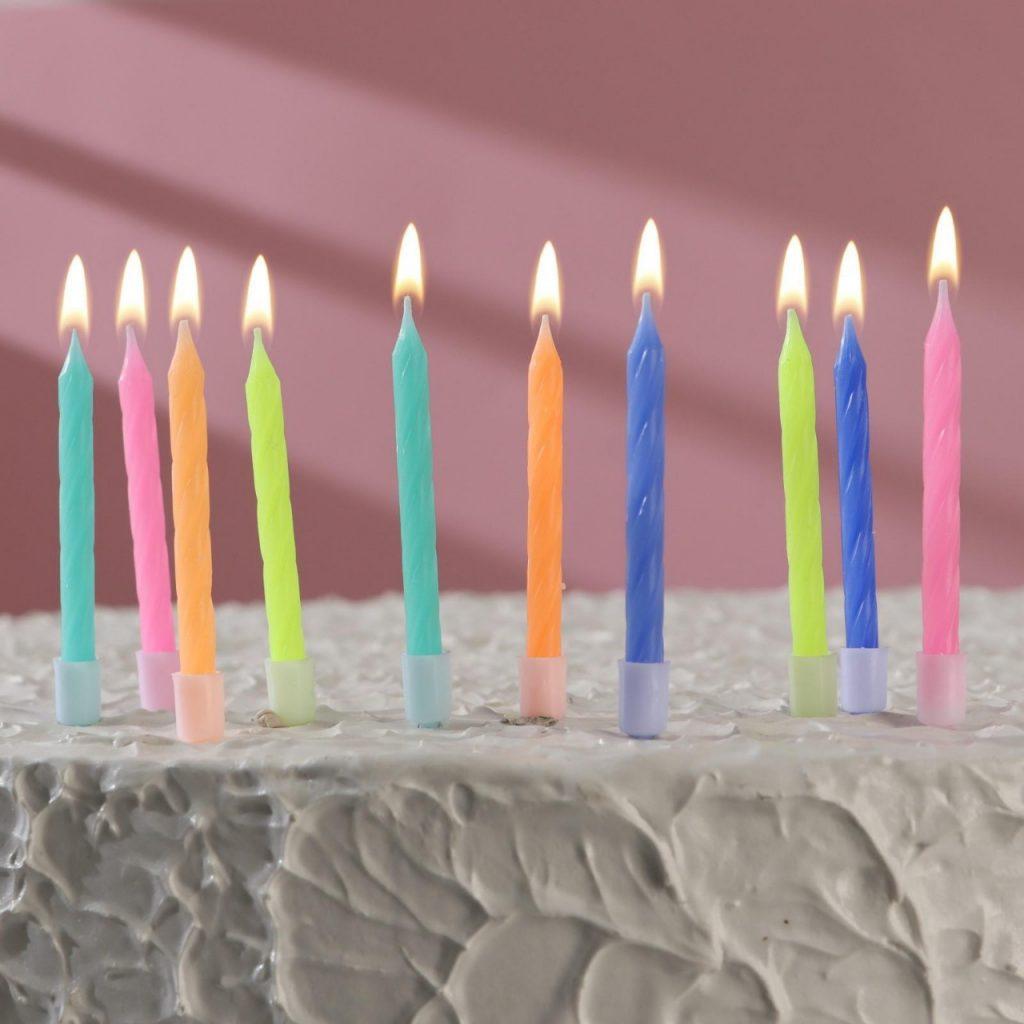 Свечи и огоньки